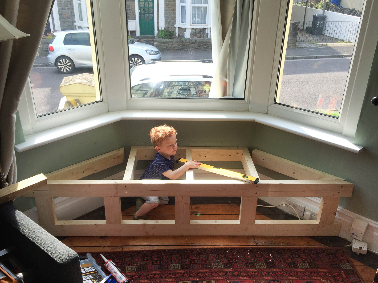 Prime How To Build A Victorian Bay Window Seat With Storage Alphanode Cool Chair Designs And Ideas Alphanodeonline