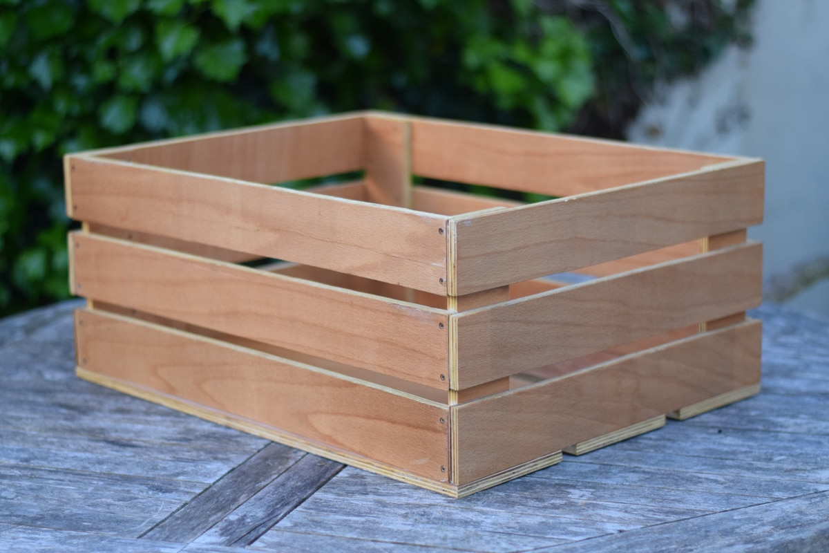 How to build a wooden crate for Where do i find wooden crates